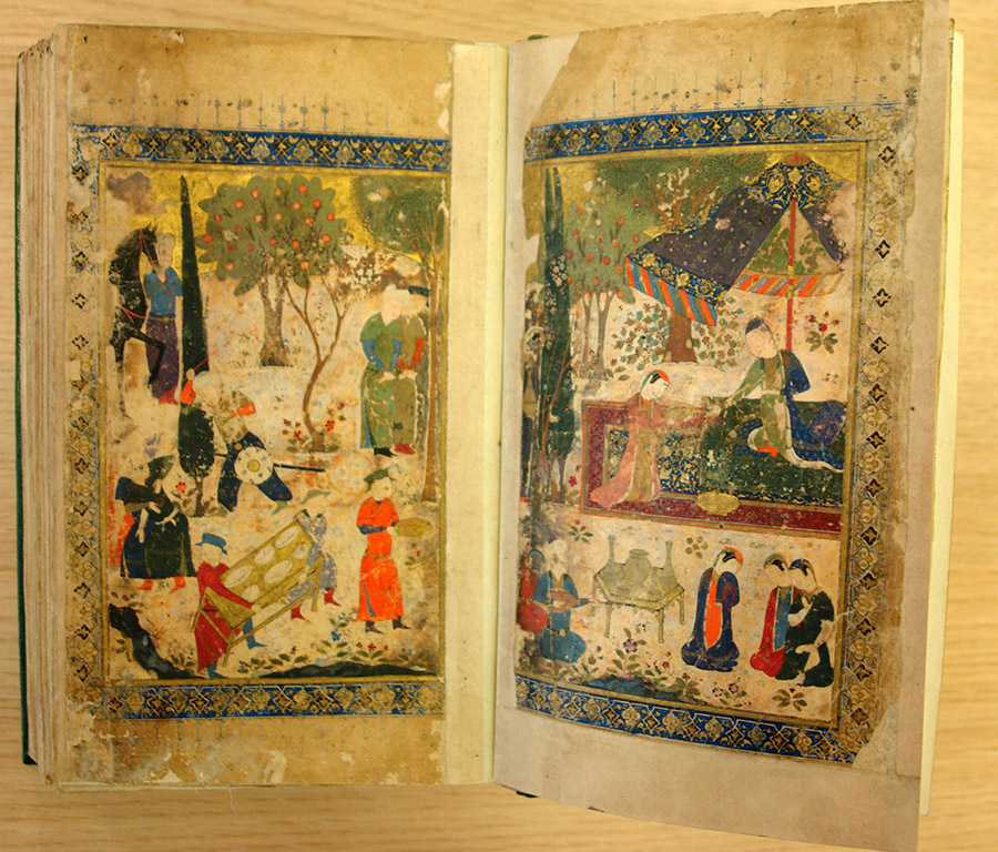 Persian poetry manuscripts 008