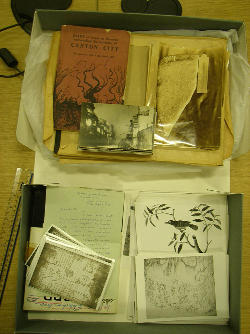 """Photographic Oddments"" in need of sorting and cataloguing"