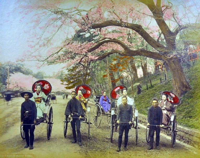 Japanese Hand-Tinted Photograph