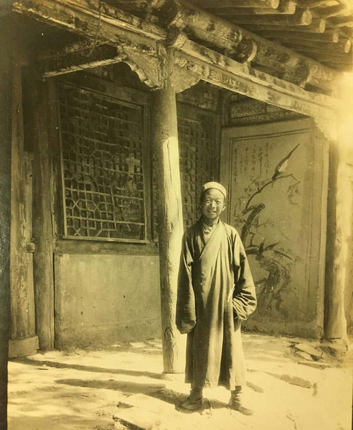 Wang Tao-shih, Taoist priest at the 'Caves of the Thousand Buddhas' – reproduced in 'Serindia' (1921)