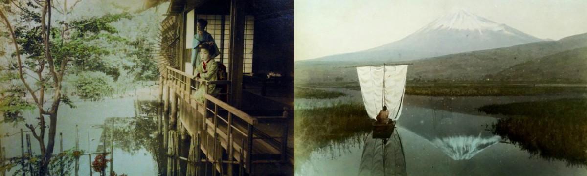 Japanese Hand Tinted Photographs