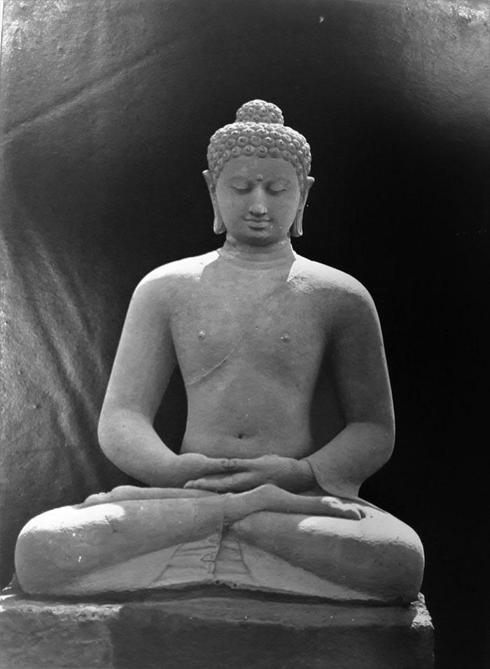 Buddha statue, Borobudur, Magelang, Indonesia