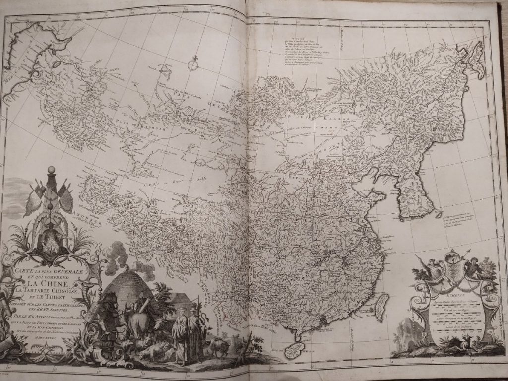 Image of D'Anville's Nouvel Atlas de la Chine, taken from the Society's collections.