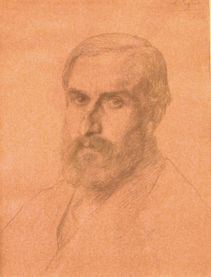 Portrait of Oscar Eckenstein