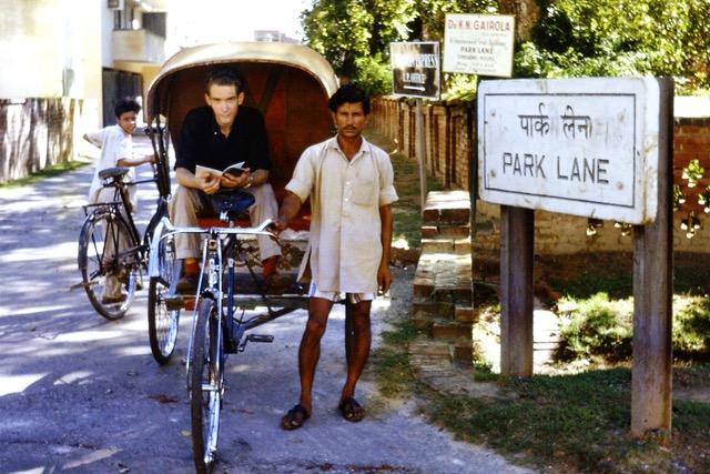 Derek Davis, Lucknow, 1965