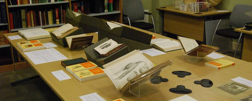 Exhibition of rare books and artworks in the Society's Reading Room.